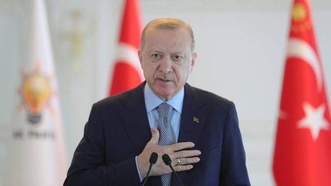 """Cumhurbaşkanı Recep Tayyip Erdoğan, """"Vizyonu olan tek parti AK Parti'dir"""""""
