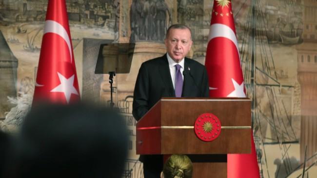 """Erdoğan, """"Hedefin altında kaldık"""""""