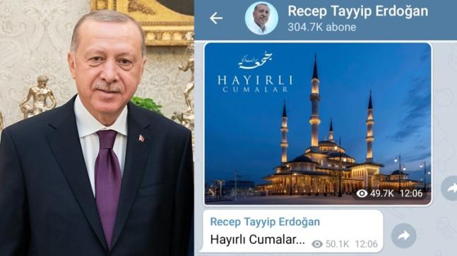 Erdoğan'dan millete Cumaa mesajı