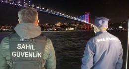 İstanbul Boğazı ve Haliç'te yılbaşı denetimi
