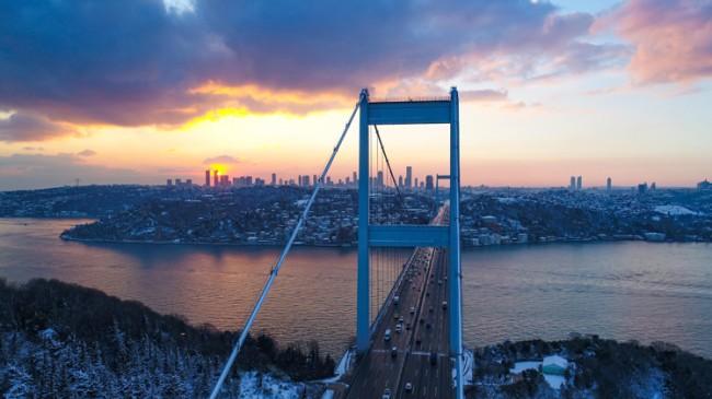 İstanbul'dan hayran bırakan görüntüler
