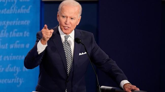 """Joe Biden, """"Kongre Binasını basanlar yerli teröristler"""""""