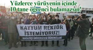 Anarşistlerin Kadıköy'de provokasyon yürüyüşü