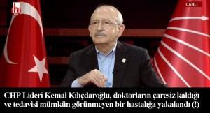 Kılıçdaroğlu'nun beynini tedavisi mümkün görünmeyen 'mitomani' hastalığı sardı (!)