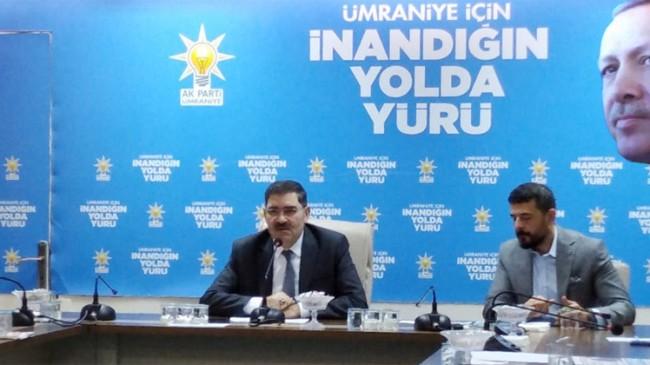 """Mahmut Eminmollaoğlu, """"Yeni partilerin Ümraniyelilerin nazarında karşılığı yok"""""""