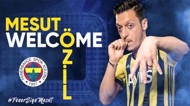 Mesut Özil, resmen Fenerbahçe'de