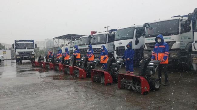 Sancaktepe Belediyesi kışa hazır