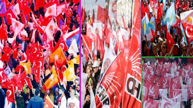Siyasi partilerin üye sayısı belli oldu