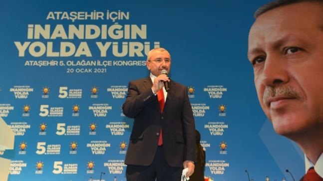 Ataşehir teşkilatlarına ağabeylik yapacak isim İsmail Erdem, görevi devraldı