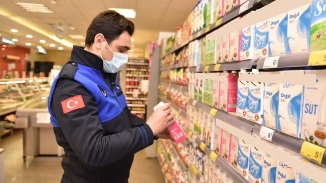 Tuzla Belediyesi'nden marketler ve semt pazarlarına fiyat denetimi