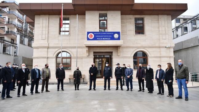 Yenidoğanlılar polis merkezine kavuştu