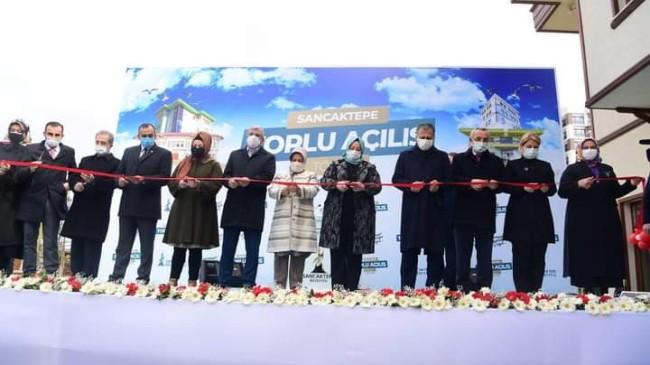 Sancaktepe Belediyesi'nden toplu açılış
