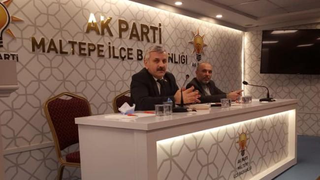 AK Parti Maltepe İlçe Başkanı Mehmet Karadeniz icra kurulunu açıkladı
