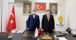 AK Parti'nin sevilen ağabeyi Mustafa Ataş, ilçe başkanlarını ziyaret etti