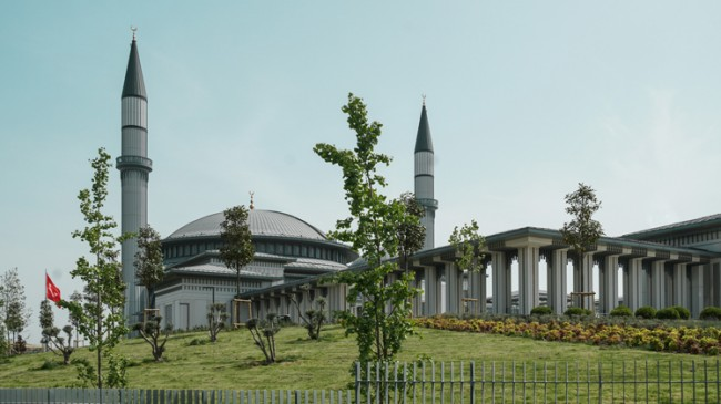 Ali Kuşçu Camii'nin mimarisi özel