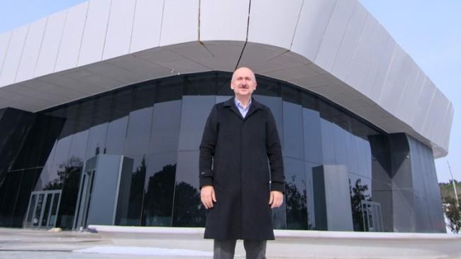 """Bakan Karaismailoğlu, """"Çamlıca Kulesi'nin Türk mühendislerinin ve Türk gençlerinin eseri olarak tüm dünyaya hizmet edecek"""""""