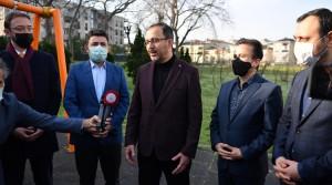 Bakan Kasapoğlu, Tuzla'nın spor alanında örnek ilçe olacağını ifade etti