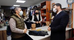 Başkan Öztekin'den esnaf ziyaretleri