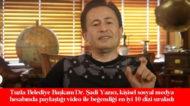 Başkan Yazıcı'dan dizi önerileri