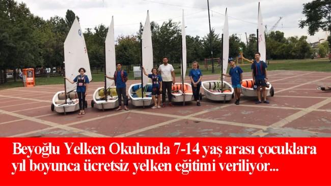 Beyoğlu Belediyesi geleceğin yelkencilerini yetiştiriyor