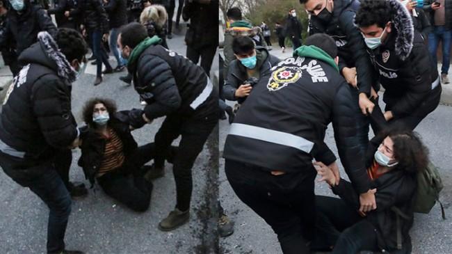 Boğaziçi Üniversitesinde 159 gözaltı