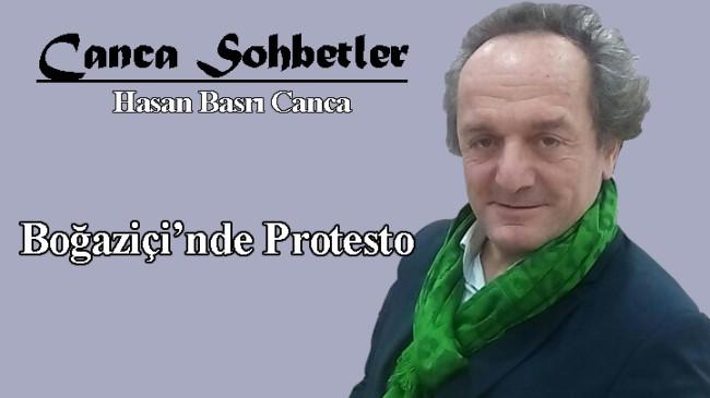 Boğaziçi'nde Protesto
