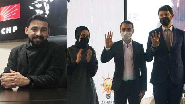CHP Tokat eski Gençlik Kolları İl Başkanı Tahsin Alpay AK Parti'ye geçti
