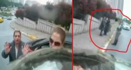 Dolandırıcı kadınlar, kendilerini deşifre eden sürücüyü tehdit ettiler