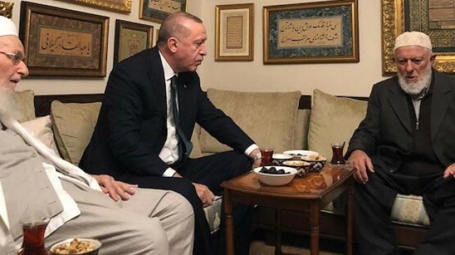 Erdoğan, Muhammed Emin Saraç Hocaefendi için taziye mesajı yayımladı