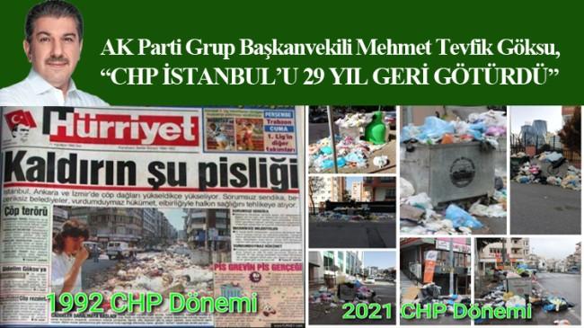 İstanbul çöp dağlarına geri mi dönüyor?