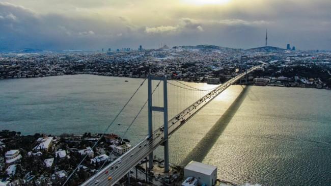 İstanbul'dan heyecanlandıran görüntüler