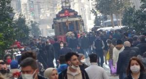 İstiklal Caddesi'nde yorumsuz görüntü!