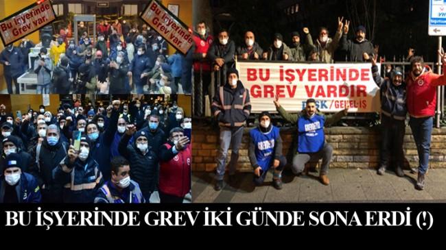 Kadıköy'de iki günde sona eren grev danışıklı şov muydu?