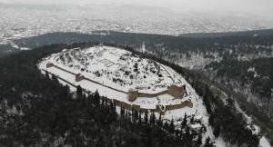 Kar, Aydos Tepesi'ne alıştı, gitmiyor