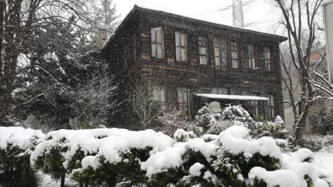 Kar, Beykoz'a bir başka güzel yakışıyor