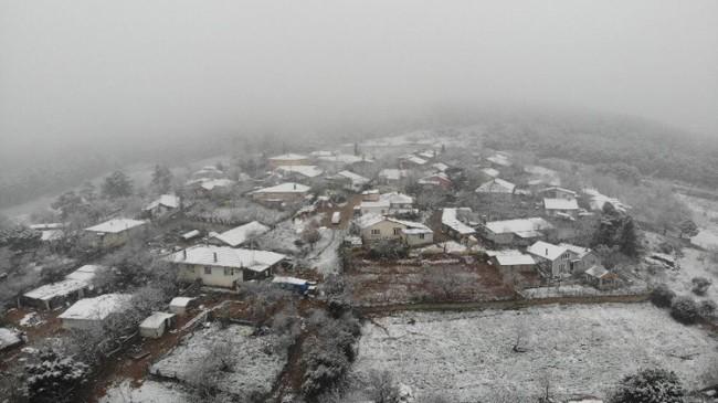Kar, İstanbul'a erken geldi