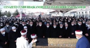 Muhammet Emin Saraç Hocaefendi, son yolculuğuna uğurlandı