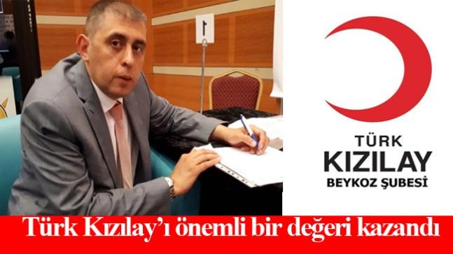 Mustafa Gürkan, Kızılay Beykoz Şubesi hizmet bayrağını devraldı