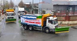 Sancaktepe Belediyesi kar yağışına karşı teyakkuzda