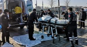 Bankta oturan yaşlı vatandaş intihar etti