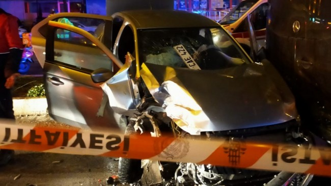 Ataşehir'de alkollu sürücü dehşeti