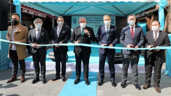 Ahmet Kekeç Kütüphanesi açıldı