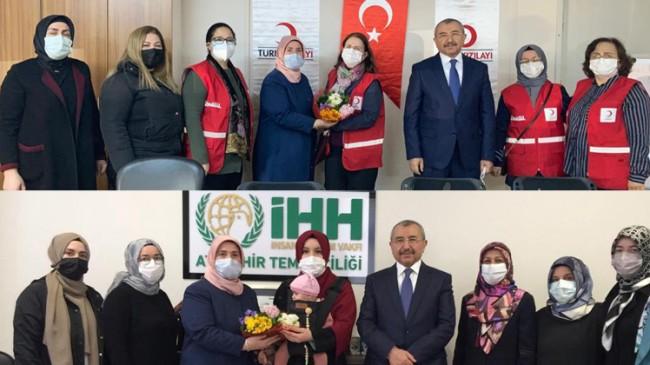"""AK Parti Ataşehir'den """"8 Mart Dünya Kadınlar Günü"""" ziyaretleri"""