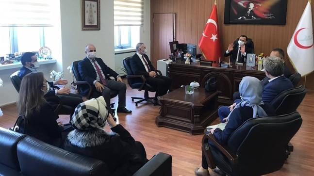 AK Parti Küçükçekmece teşkilatından sağlıkçılarımıza bir dizi ziyaretler