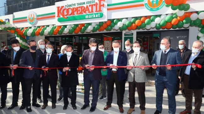 Başkan Çağırıcı Tarım Kredi Kooperatifleri, Bağcılar'da ikinci şubesini açtı