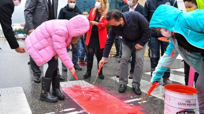 """Başkan Şadi Yazıcı, """"Yayaların önceliği için kırmızı çizgimizi çektik"""""""
