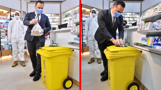 Beyoğlu'nda atık ilaç toplama kampanyası
