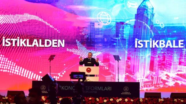 Cumhurbaşkanı Erdoğan Ekonomi Reform Paketi'ni açıkladı