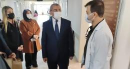 İsmail Erdem, ekibiyle birlikte sağlık çalışanlarına ziyaretler gerçekleştirdi