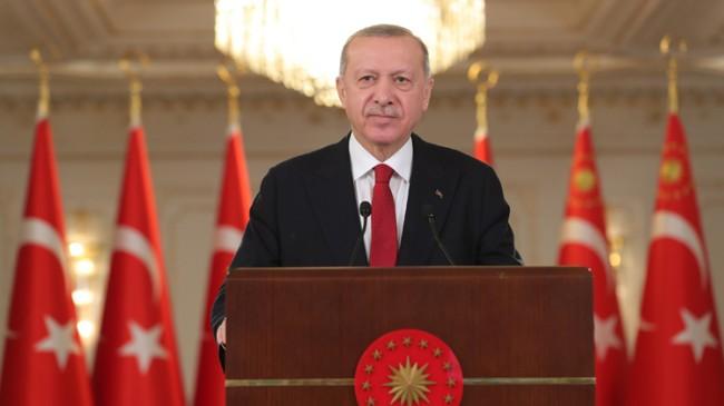 """Erdoğan, """"Doğu Akdeniz'de Türkiye'nin menfaatlerinden asla taviz verilmedi"""""""